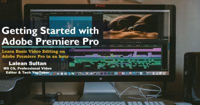 Learn Adobe Premier Pro
