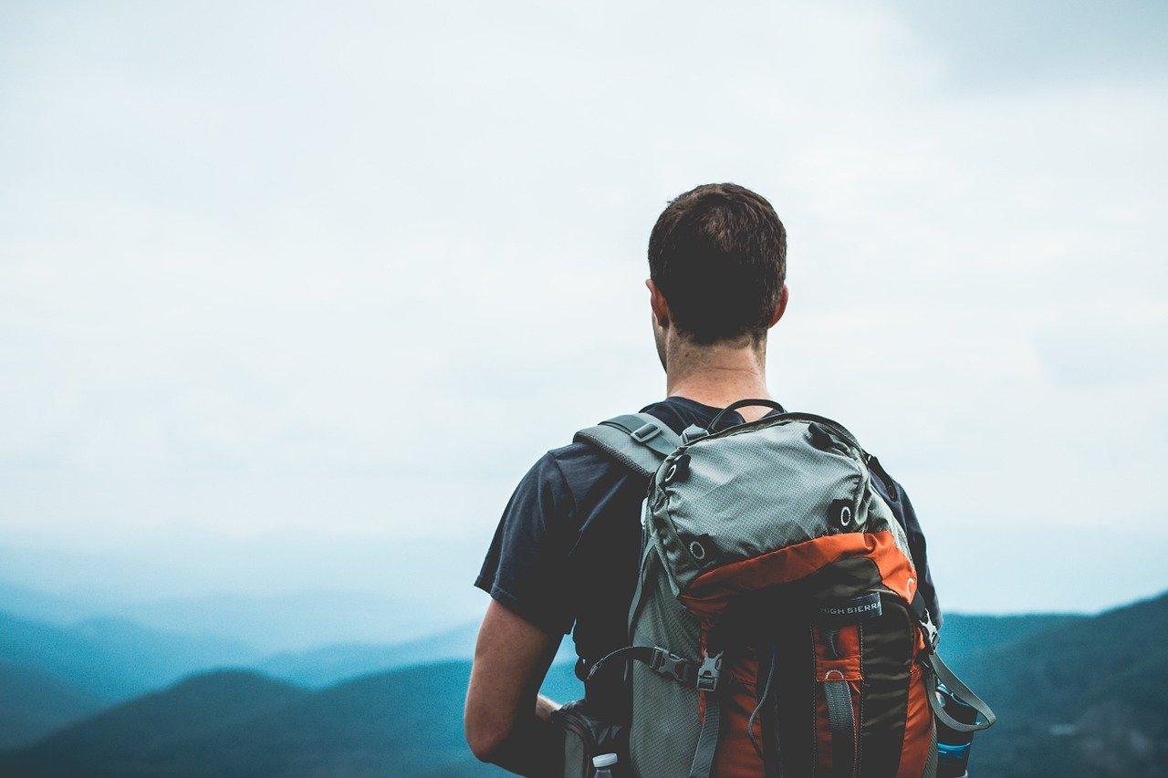 hiker, backpacker, backpacking