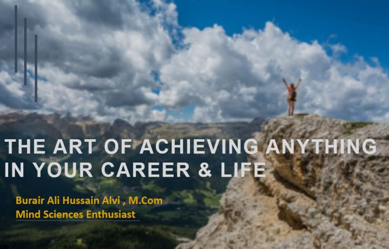 course on art of success and achievements
