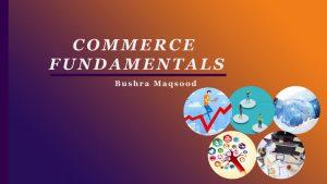 commerce fundamentals course