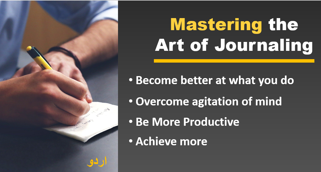 Course on art of journaling